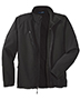 Port Authority TLJ705 Men Tall Textured Soft Shell Jacket