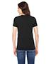 Custom Embroidered American Apparel TR301W Ladies 3.7 oz Triblend Short-Sleeve Track T-Shirt