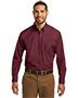 Port Authority W100 Men Sleeve Carefree Poplin Shirt