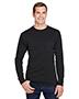 Hanes W120 Adult 5 oz Workwear Long-Sleeve Pocket T-Shirt