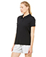 Alo W1709 Women Performance ThreeButton Mesh Polo