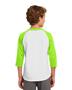 Sport-Tek® YT200 Boys Colorblock Raglan Jersey