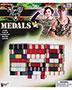 Halloween Costumes FM66226 Unisex Combat Hero Medals Bars