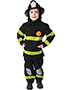 Halloween Costumes UP203T Toddler s Fire Fighter 3 To 4