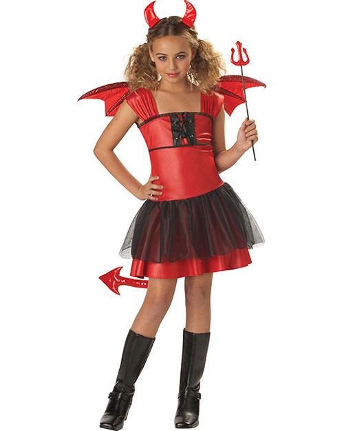 California Costumes 00235 Girls Devil Darling / Child at GotApparel