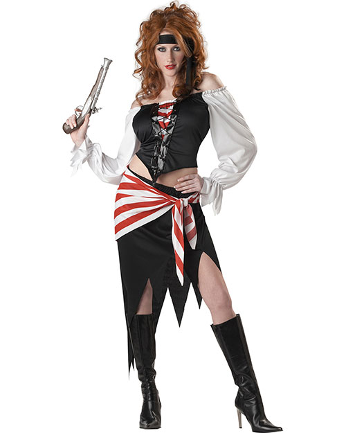 California Costumes 01291 Women Ruby, The Pirate Beauty / Adult at GotApparel