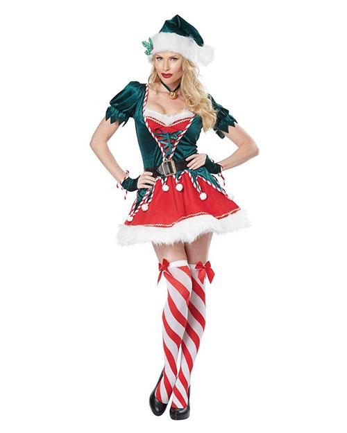 California Costumes 01552 Women Santas Helper / Adult at GotApparel