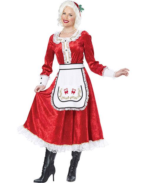 California Costumes 01556 Women Classic Mrs. Claus / Adult at GotApparel