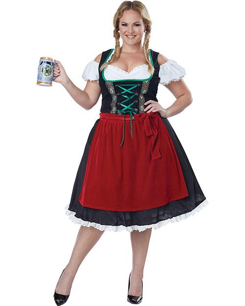 California Costumes 01751 Women Oktoberfest Fraulein / Plus at GotApparel