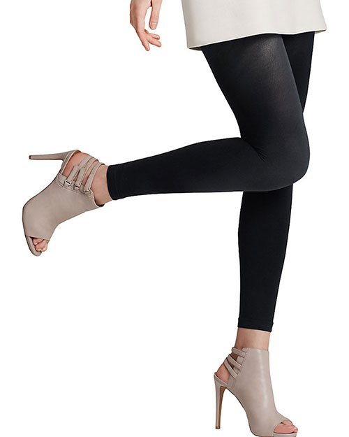 Leggs 02001 Women Energy Collection Opaque Footless Tight at GotApparel