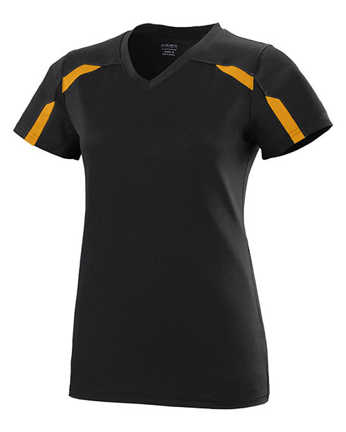 Augusta 1002 Women Avail Short Sleeve V-Neck Jersey at GotApparel