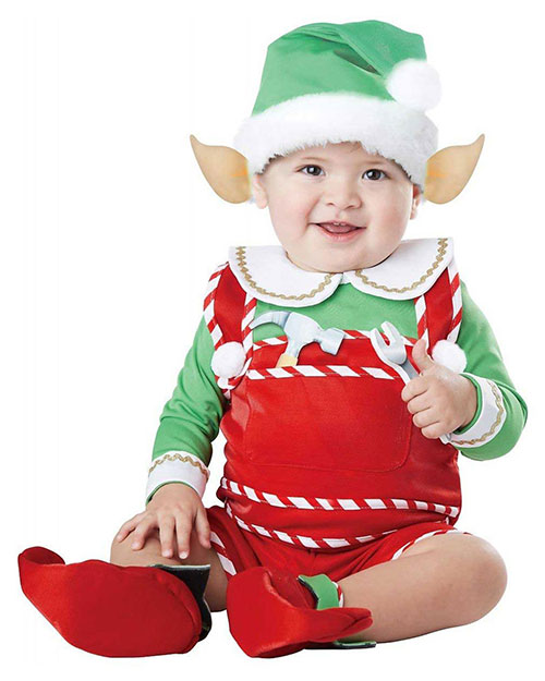 California Costumes 10038 Infants Santas Lil Helper / Infant at GotApparel