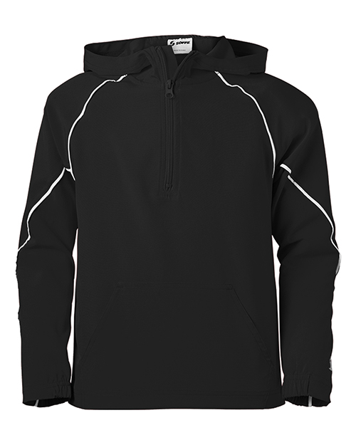 Soffe 1027Y Boys Youth Game Time Warm Up Hoodie at GotApparel
