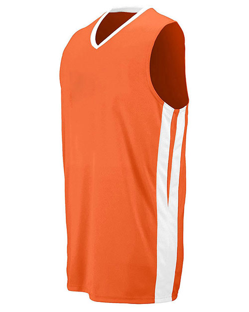 Augusta 1041 Boys Sleeveless Tripledouble Game Jersey at GotApparel