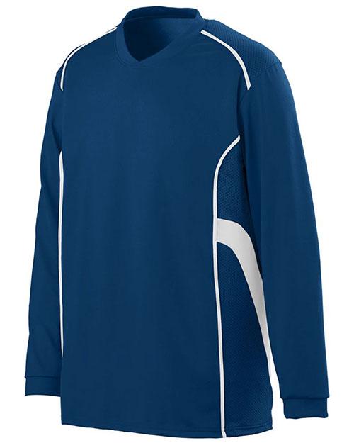 Augusta 1086 Boys Winning Streak Long Sleeve Jersey at GotApparel
