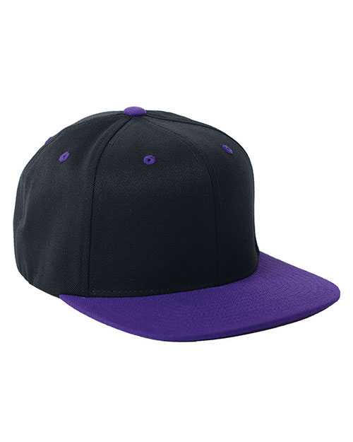 Yupoong 110FT Men Fitted Classic Two-Tone Cap at GotApparel