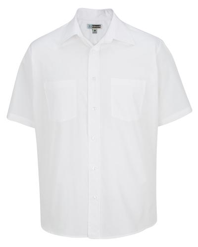 Edwards 1110 Men Broadcloth Short-Sleeve Shirt at GotApparel