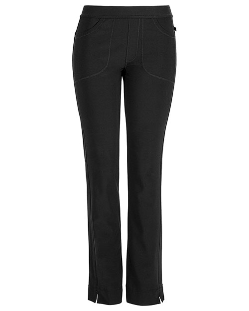 Cherokee 1124AT Women Low Rise Slim Pull-On Pant at GotApparel