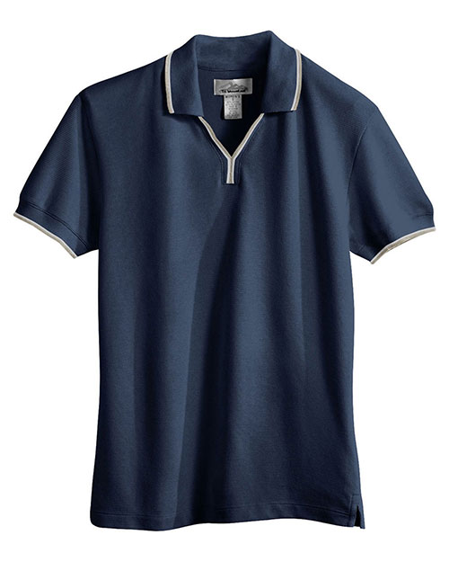 Tri-Mountain 112 Women Short-Sleeve Johnny Collar Golf Shirt at GotApparel