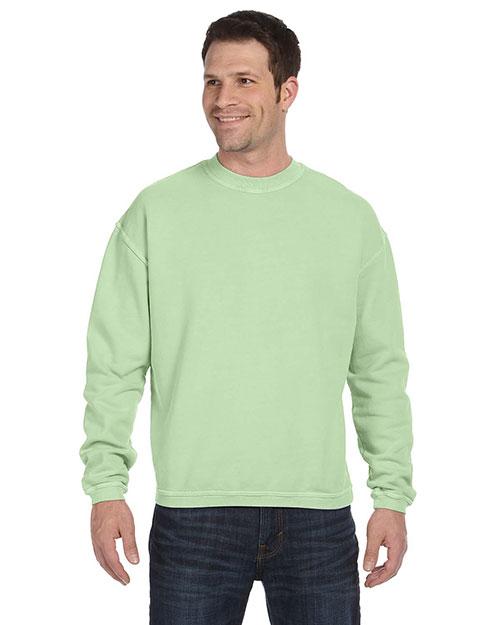 Authentic Pigment 11561 Men 11 Oz. Pigment-Dyed Ringspun Fleece Crew at GotApparel