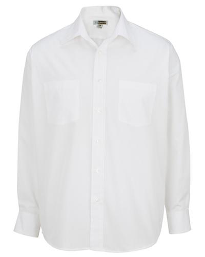 Edwards 1160 Men Long-Sleeve Broadcloth Shirt at GotApparel