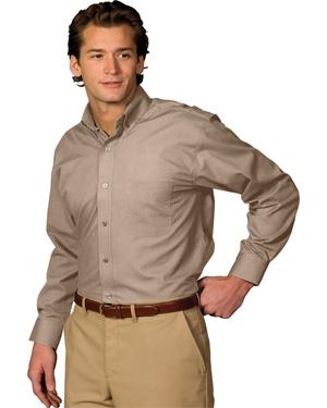 Edwards 1295 Men Poplin Long-Sleeve Shirt at GotApparel