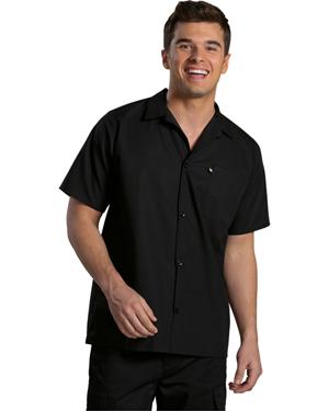 Edwards 1305 Unisex Mesh Back Cook Shirt at GotApparel
