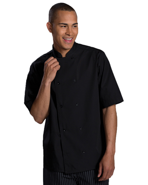 Edwards 1350 Unisex Double Breasted Bistro Server Shirt at GotApparel
