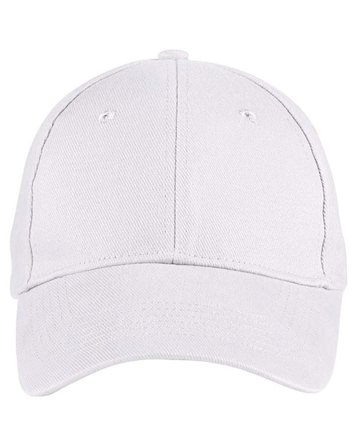Anvil 136 Unisex Solid Brushed Twill Cap at GotApparel