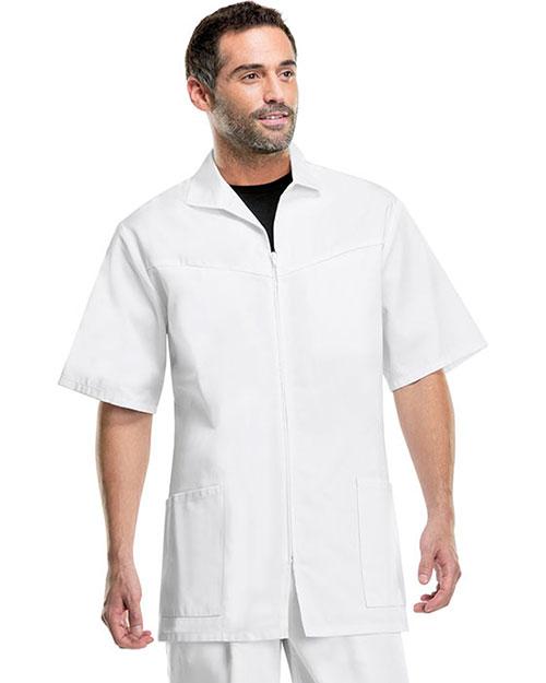 Med-Man 1373 Men Zip Front Jacket at GotApparel