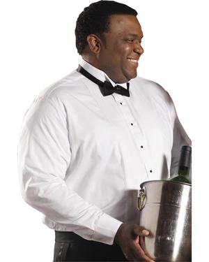 Edwards 1390 Men Wing Collar Tuxedo Shirt at GotApparel
