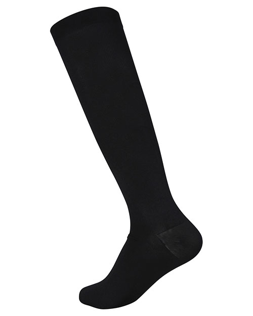 Landau 14317 Women Black Compression Knee High Socks /1 Pr. at GotApparel