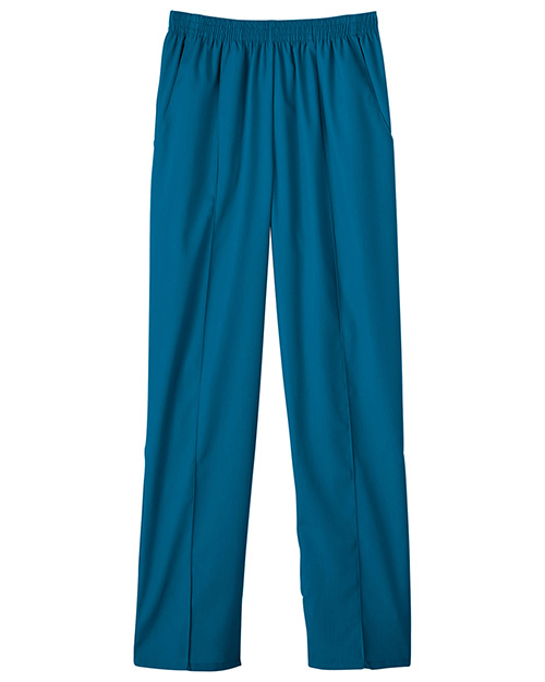 White Swan 14820 Fundamentals Pull-On Front Seam Pant at GotApparel