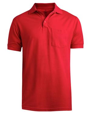Edwards 1505 Men Pique Polo Short-Sleeve With Pocket at GotApparel