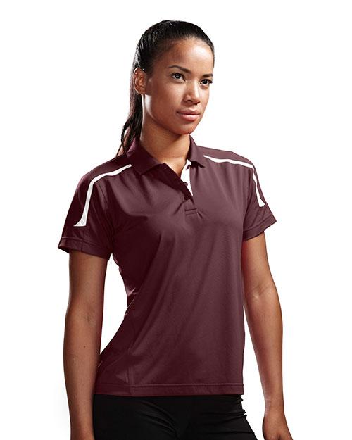 TM Performance 171 Women's Titan Ultracool Knit Polo Shirt at GotApparel