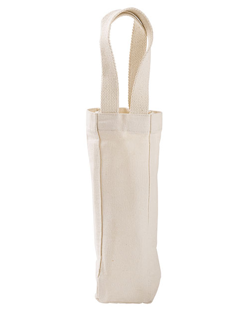 Liberty Bags 1725 Unisex Single Bottle Wine Tote at GotApparel