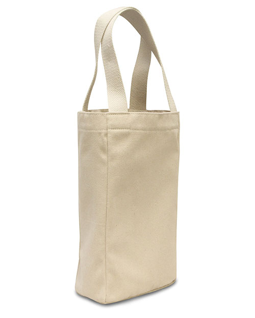 Liberty Bags 1726 Unisex Double Bottle Wine Tote at GotApparel