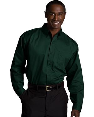 Edwards 1750 Men Big & Tall Long-Sleeve Twill Shirt at GotApparel