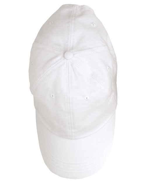 Anvil 176 Unisex Washed Brushed Twill Cap at GotApparel