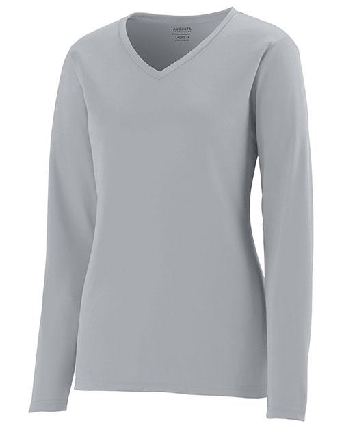 Augusta 1788 Women Long Sleeve Wicking T Shirt at GotApparel