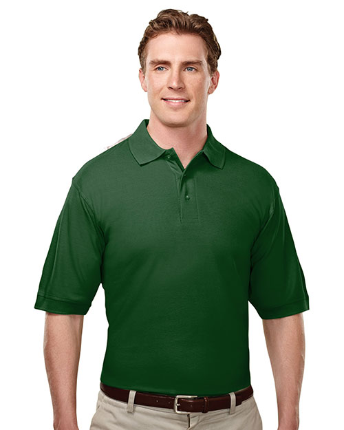 Tri-Mountain 188 Men Caliber Cotton Baby Pique Short Sleeeve Golf Shirt at GotApparel