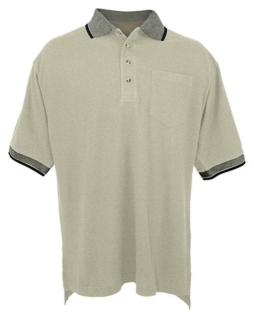 Tri-Mountain 197 Men Pique Pocket Golf Shirt at GotApparel