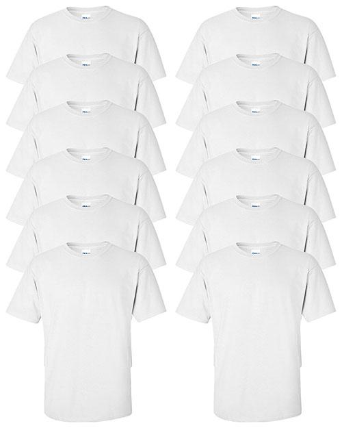 Gildan G200 Men Ultra Cotton 6 Oz. T-Shirt 12-Pack at GotApparel