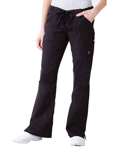Landau 2005 Women Hailey Modern Twill Flare Pant at GotApparel