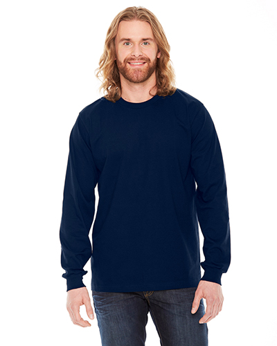 Custom Embroidered American Apparel 2007 Fine Jersey LongSleeve T-Shirt at GotApparel