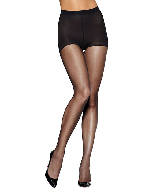 Leggs 20161 Women Silken Mist Ultra Sheer with Run Resist Technology, Control Top Toe Pantyhose, 1Pack at GotApparel