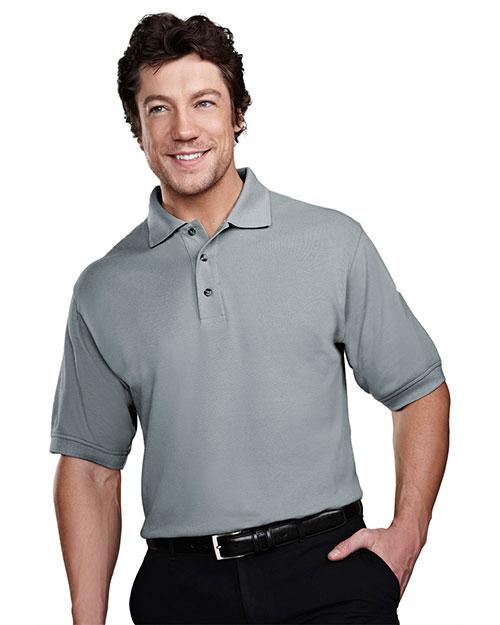 Tri-Mountain 205 Men Stain Resistant Pique Golf Shirt at GotApparel