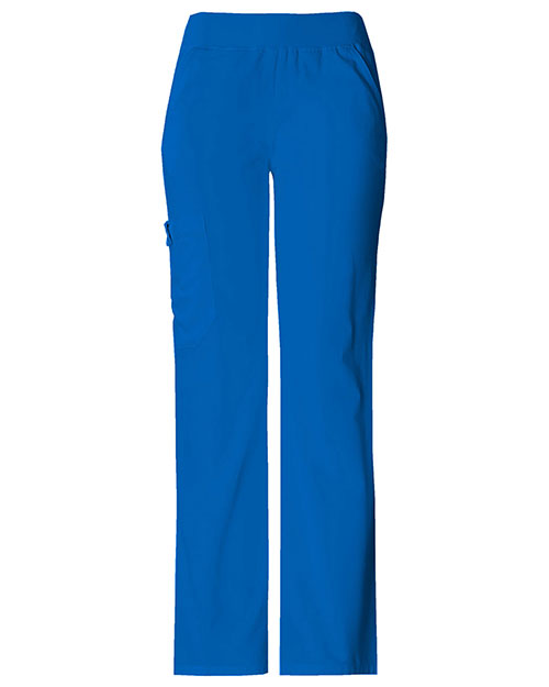 Cherokee 2085T Women Mid Rise Knit Waist Pull-On Pant at GotApparel
