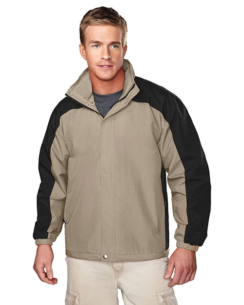 Tri-Mountain 2100 Men Meridian Ripstop Nylon Long-Sleeve Jacket at GotApparel