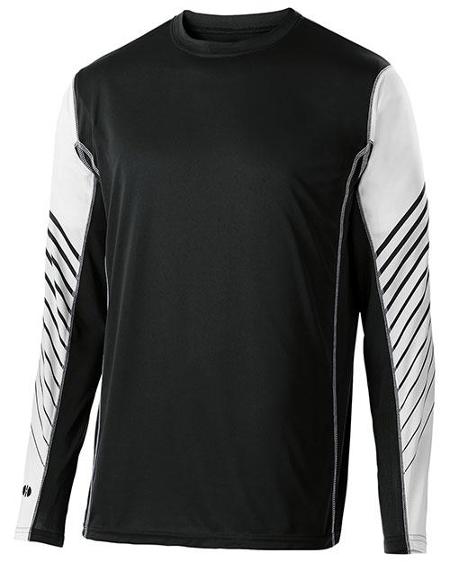 Holloway 222641 Youth Arc Shirt Long-Sleeve at GotApparel